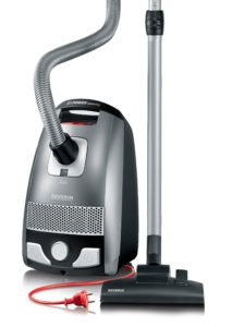 Severin BC 7045 S'Power Snowwhite Aspirateur Traineau