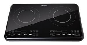 Brandt TI2FSOFT Table Induction Posable avec 2 Foyer Noir 3400 W