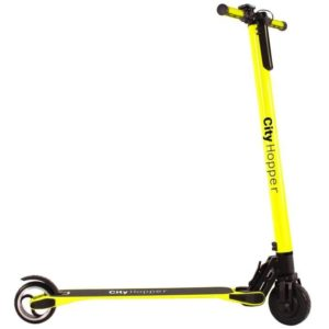 Trottinette électrique CITY HOPPER Jaune